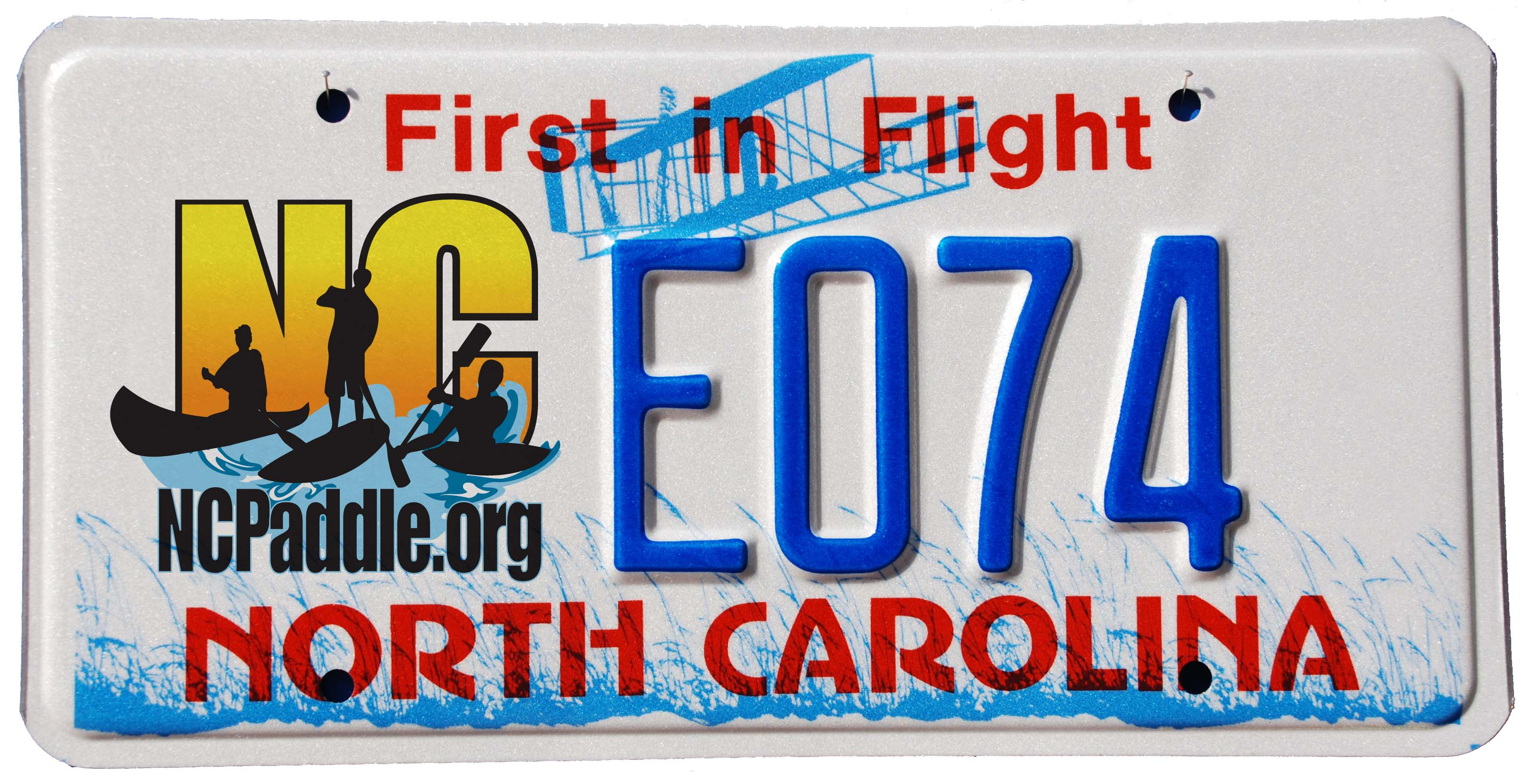 Friends of the Hammocks and Bear Island, Inc. - NC Paddle License Plate